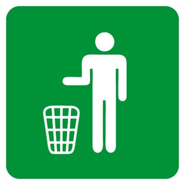 Vinil sinalética reciclagem