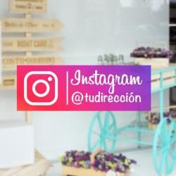 Vinil autocolante instagram