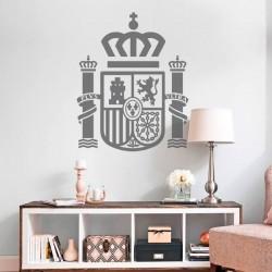 Vinil escudo de Espanha
