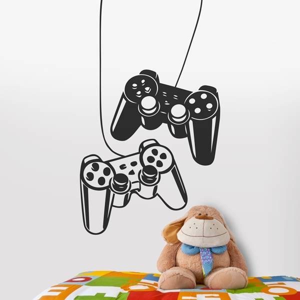 Autocolante consola de jogos