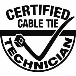 Vinil certified cable tie