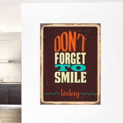 Vinil decorativo smile