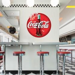 Vinil logo da Coca-Cola
