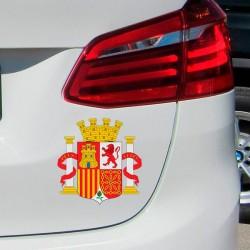 Autocolante escudo de Espanha