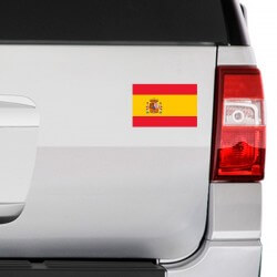 Vinil bandeira de Espanha