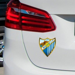 Vinil escudo Málaga C.F.
