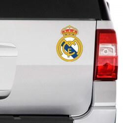 Adesivo logo do Real Madrid