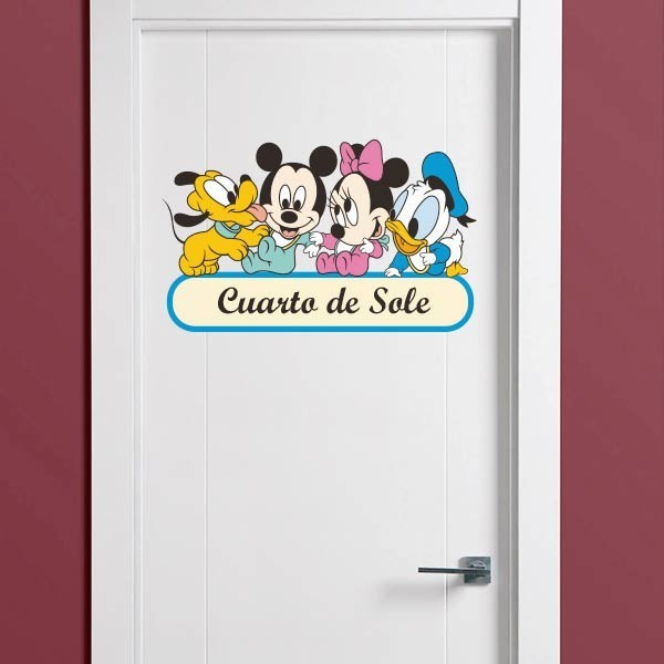Vinil Mickey Mouse & friends
