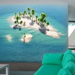 Foto mural ilha