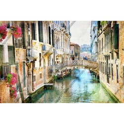 Mural pintura de Veneza