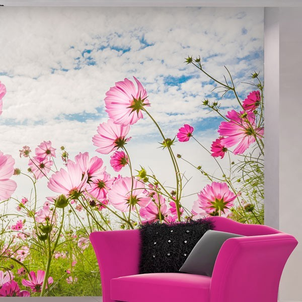 Mural Flores De Primavera