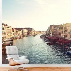 Mural de parede canal Veneza