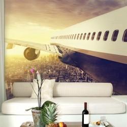 Papel de parede avião em NY