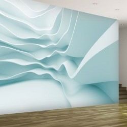 Foto mural 3D em branco