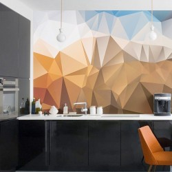 Papel de parede padrão 3D