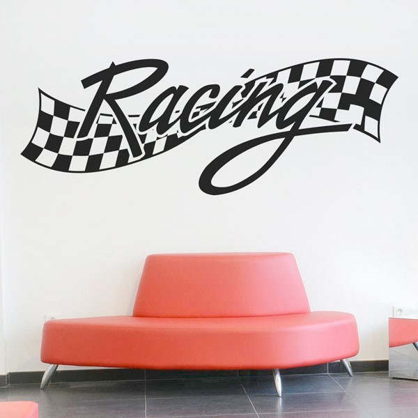 Autocolante de parede racing