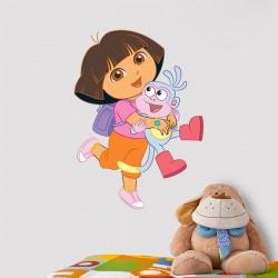 Vinil Dora e o amigo Botas