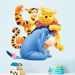Autocolante Pooh e amigos