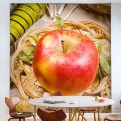 Papel pintado maçã