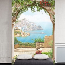 Foto mural terraço em Itália