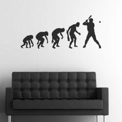 Adesivo de parede evolução...