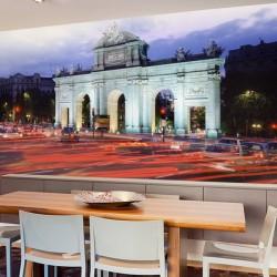 Foto mural vida citadina