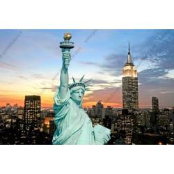 Foto mural estátua da liberdade
