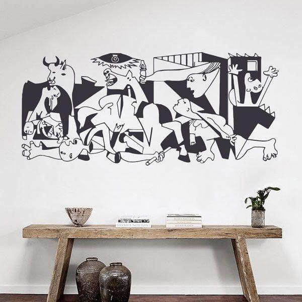 Vinil decorativo Guernica Picasso
