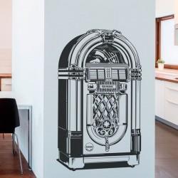 Vinil decorativo jukebox retro