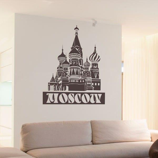 Vinil de cidades Moscow
