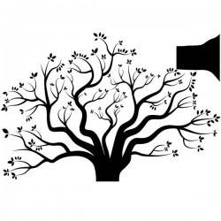 Vinil árvore no Outono