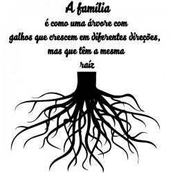 Vinil árvore família