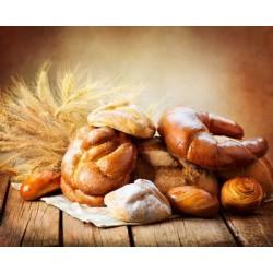 Vinil trigo e croissant