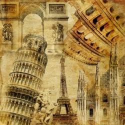 Vinil pintado de monumentos