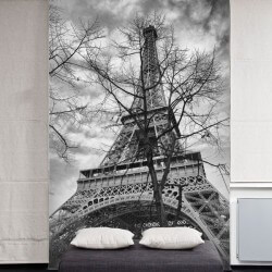 Vinil pintado da Torre Eiffel