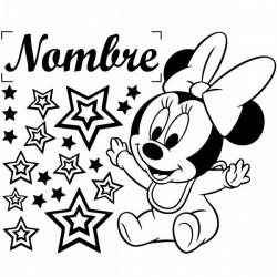 Vinil Minnie Mouse bebé
