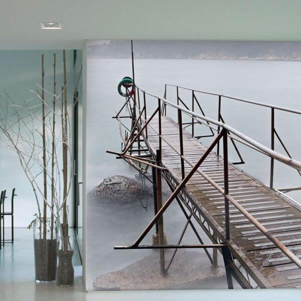 Papel Pintado Ponte com Nevoeiro
