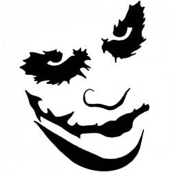 Autocolante de parede Joker