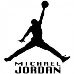 Autocolante de Michael Jordan