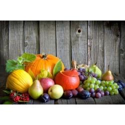 Papel de Parede Sortido de Frutas