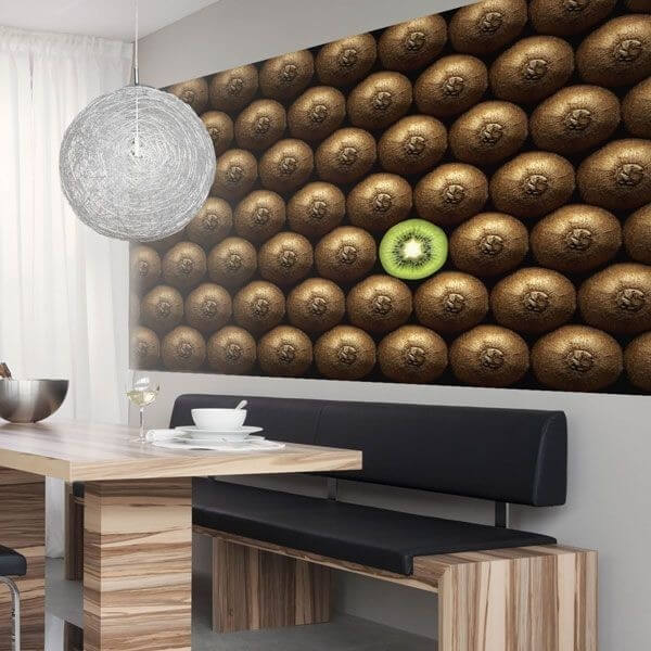 Mural de parede kiwi