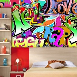 Papel pintado graffitis