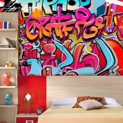 Papel de parede graffitis 2