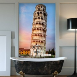 Mural torre pizza 3
