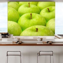 Mural de parede maçãs