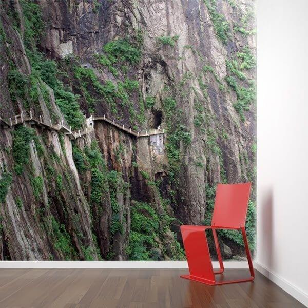 Papel pintado montanha pathway