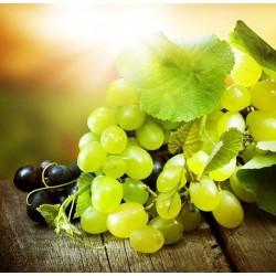 Papel pintado uvas brancas