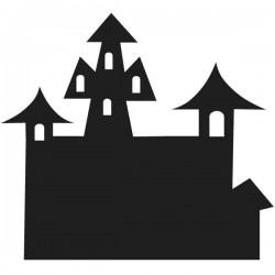 Vinil lousa de castelo drácula