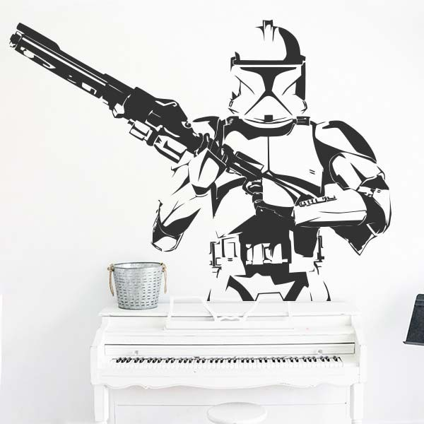 Vinil decorativo Stormtrooper
