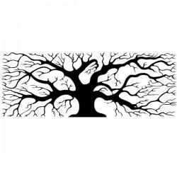 Vinil árvore retangular